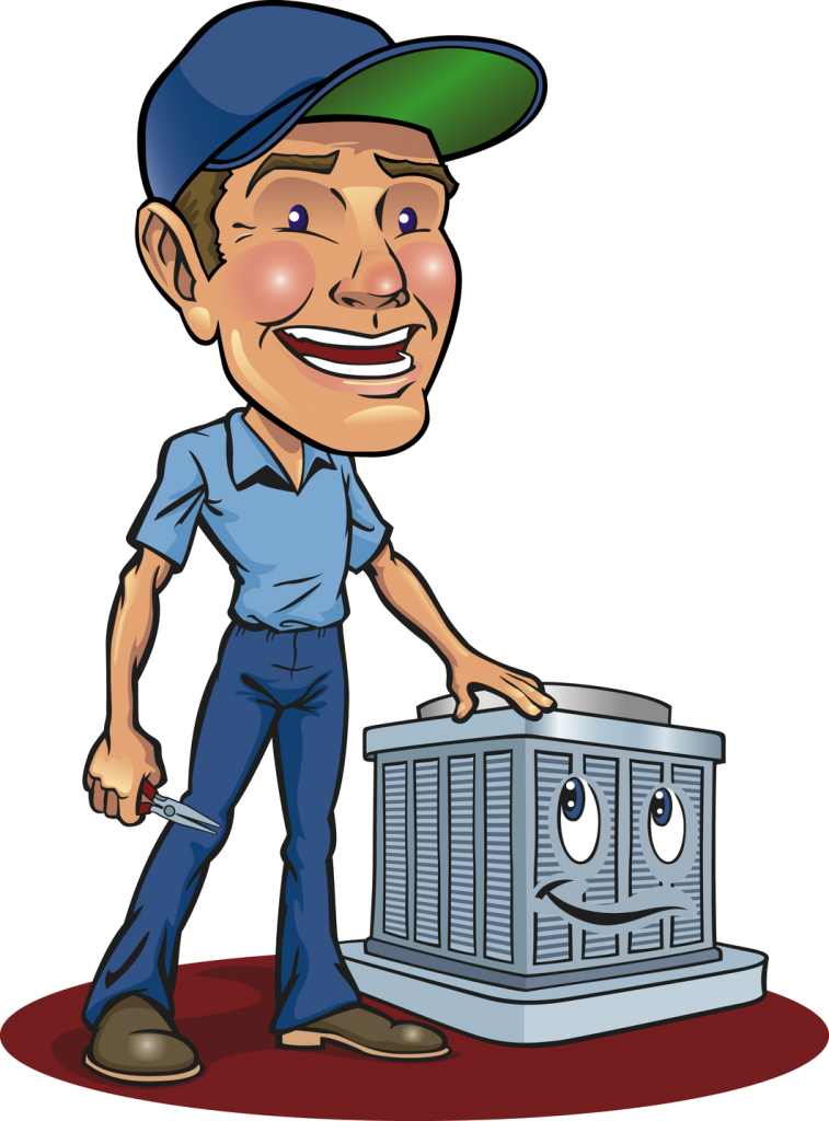 Your heating and air conditoning contractor