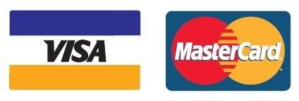 We take VISA and Mastercard
