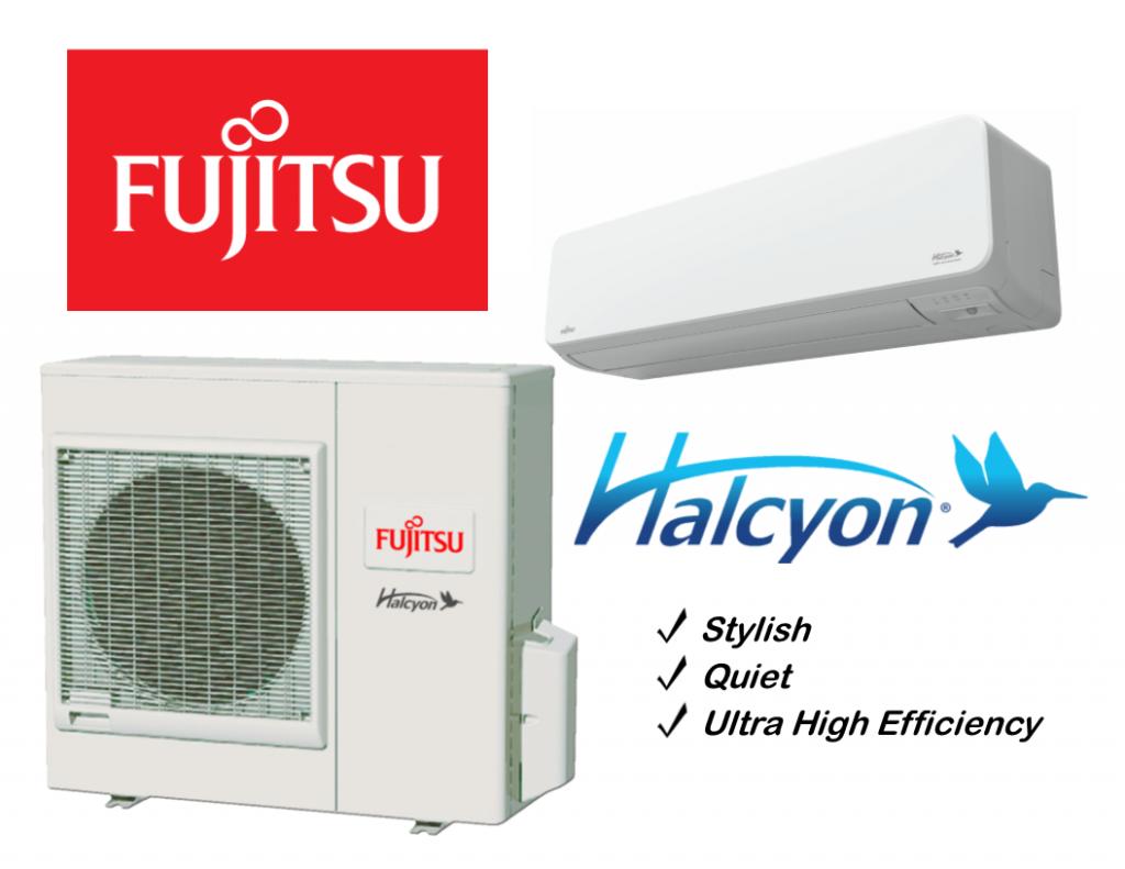 Fujitsu ductless mini splits