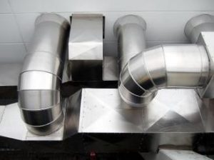 your heating and air conditioning contractor sheet metal fittings