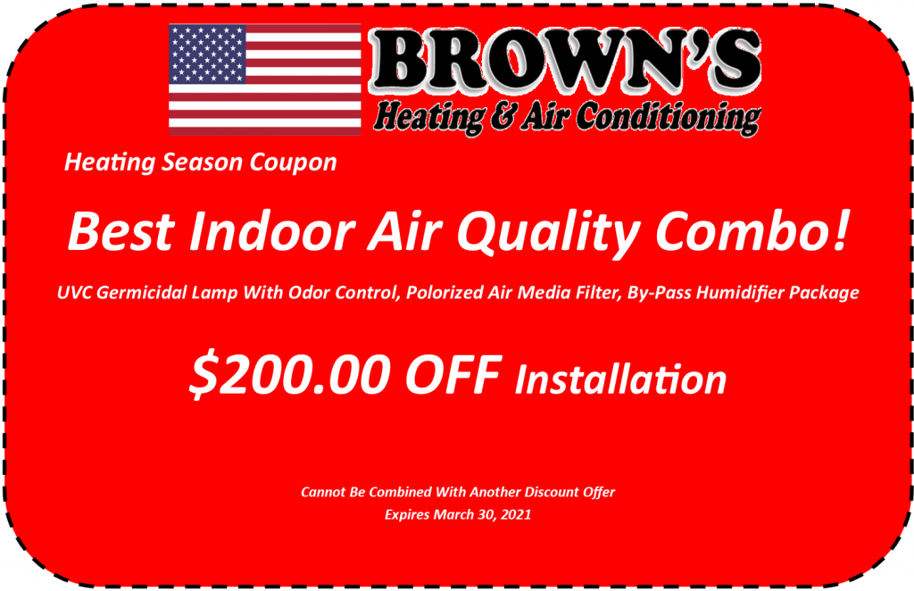 Indoor Air Quality Coupon
