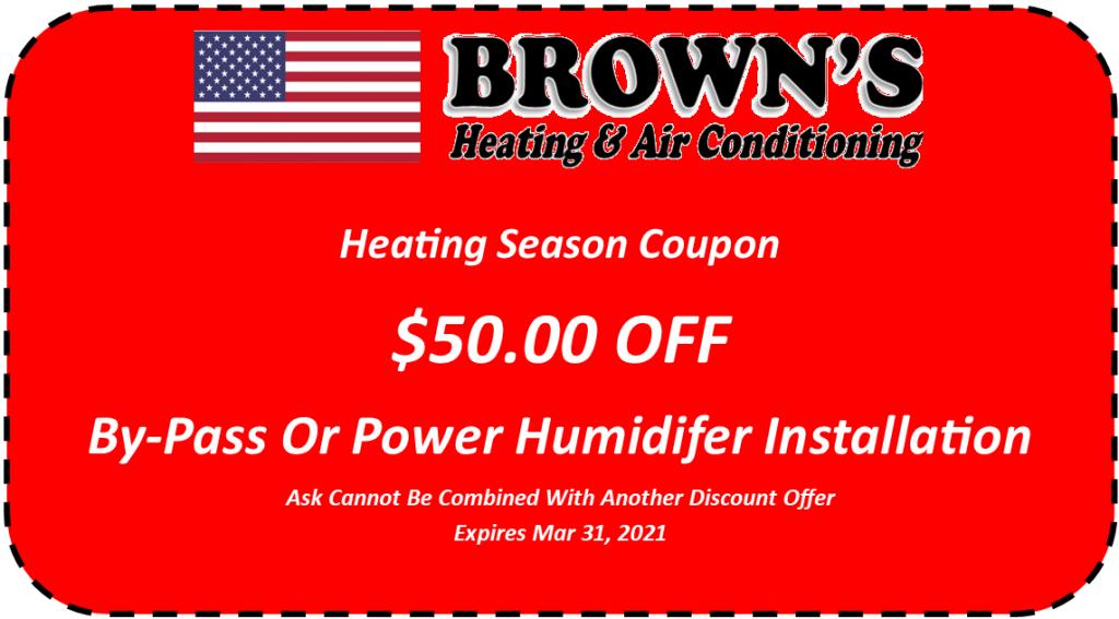 Humidifier Coupon